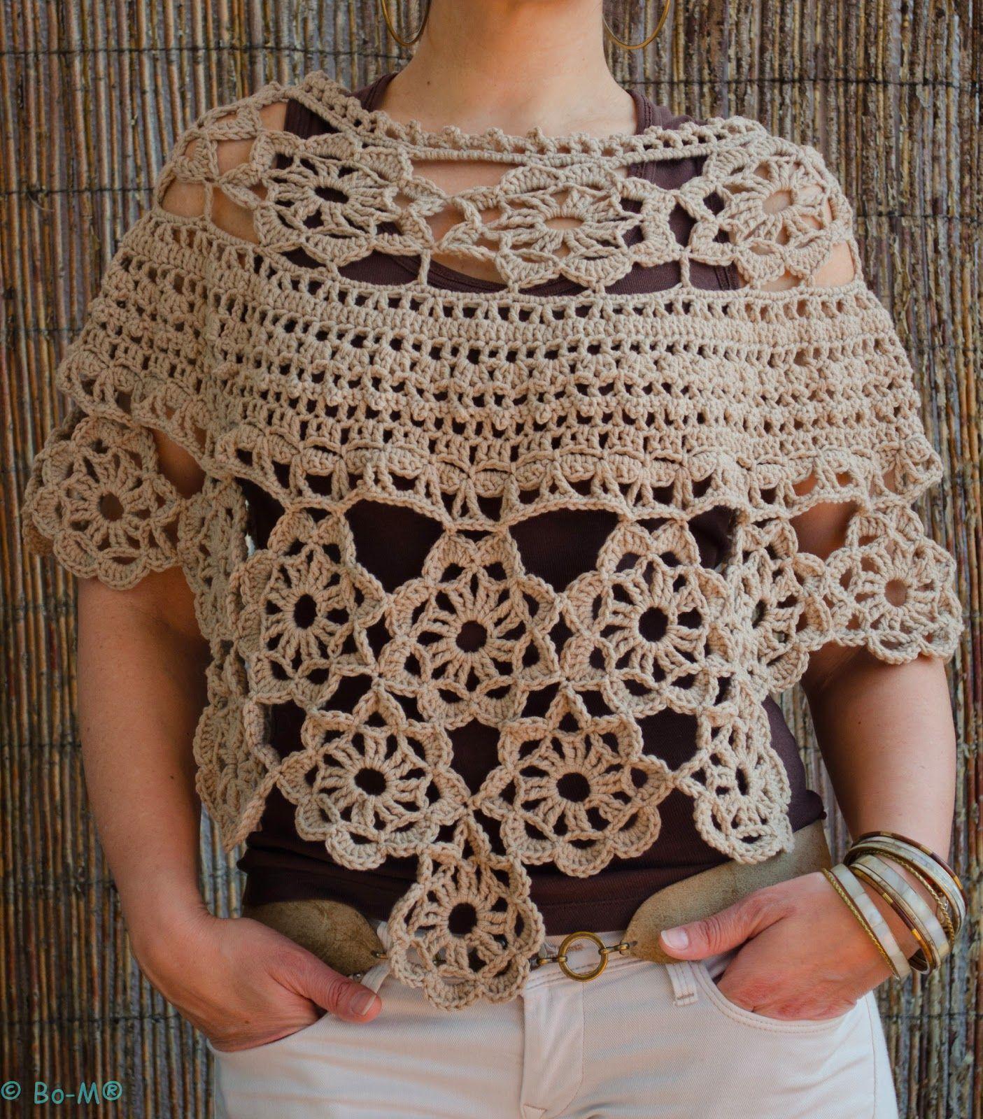 Capa Aponchada Feita Mo Em Crochet 3500 Pinterest Trippy Hippy Afghan Pattern Kingdom Ponchos Knitted Shawls