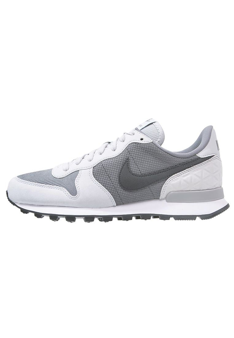 Gray · Nike Sportswear INTERNATIONALIST PREMIUM - Sneaker low - cool grey/ anthracite/pure platinum/