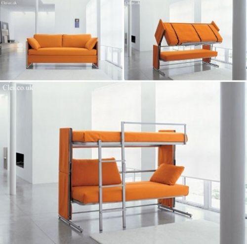 Designer Schlafsofa Etagenbett Bonbon Modern Kreativ Design