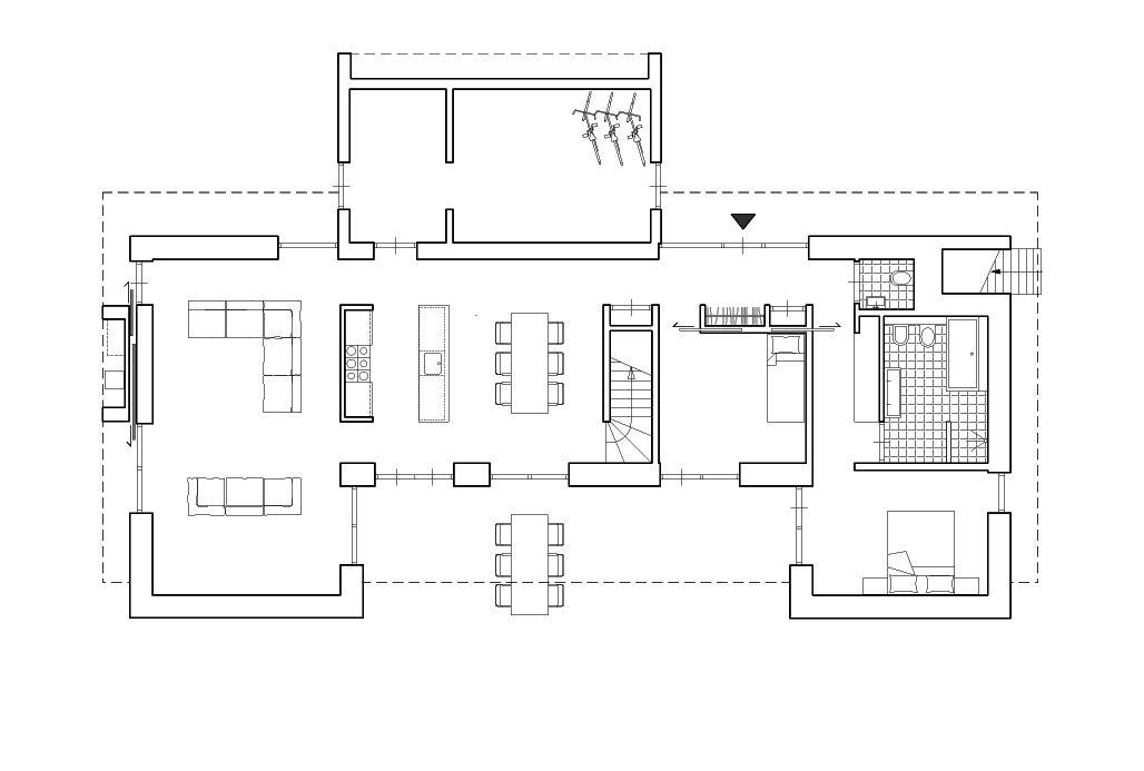 1103 plattegrond plattegronden woningen pinterest plattegronden huizen en architectuur - Moderne woning buiten lay outs ...