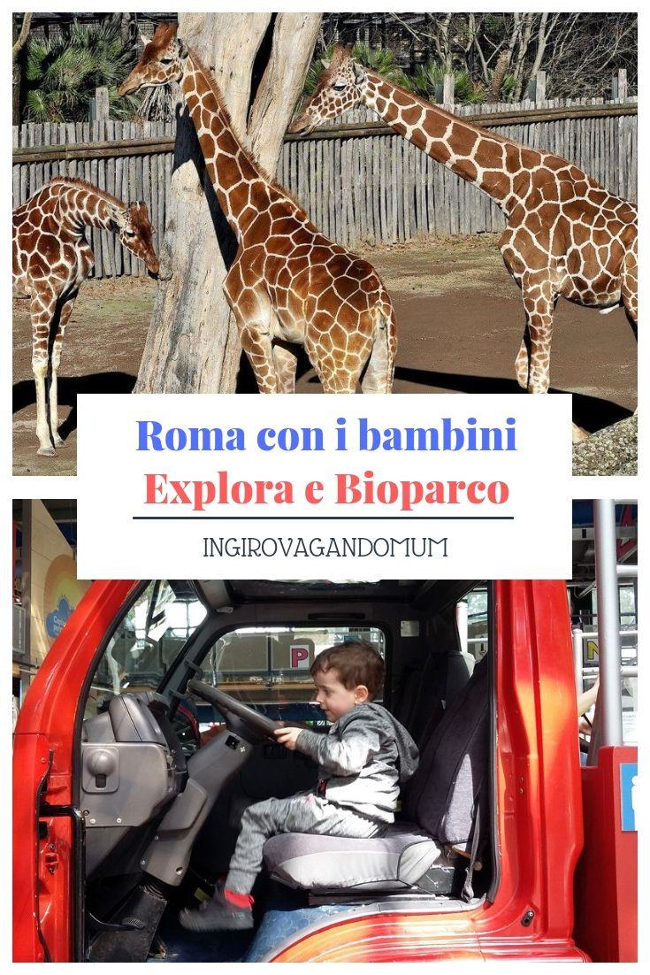 Roma con i bambini Explora e il Bioparco Viaggi
