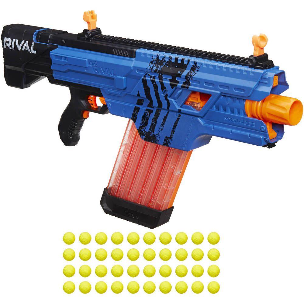 Nerf Rival Khaos MXVI-4000 Blaster Toy Gun Rapid Fire 40 Round Darts  Magazine