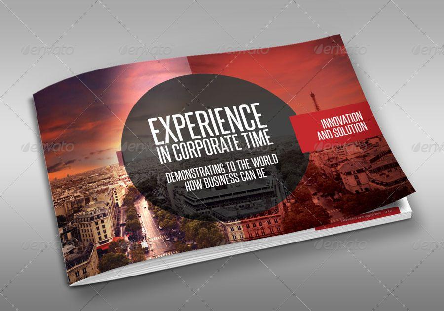 Red Black Design Brochure #Ad #Black, #sponsored, #Red, #Brochure, #Design