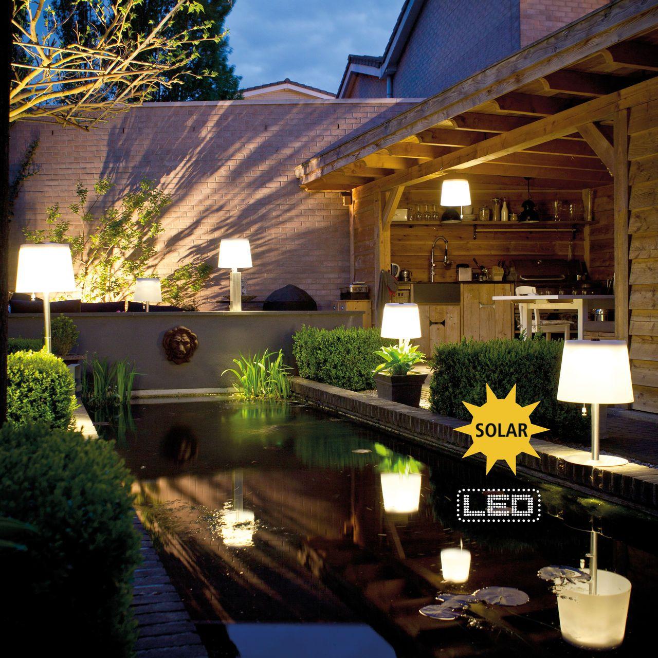 Solar Leuchten Für Den Garten
