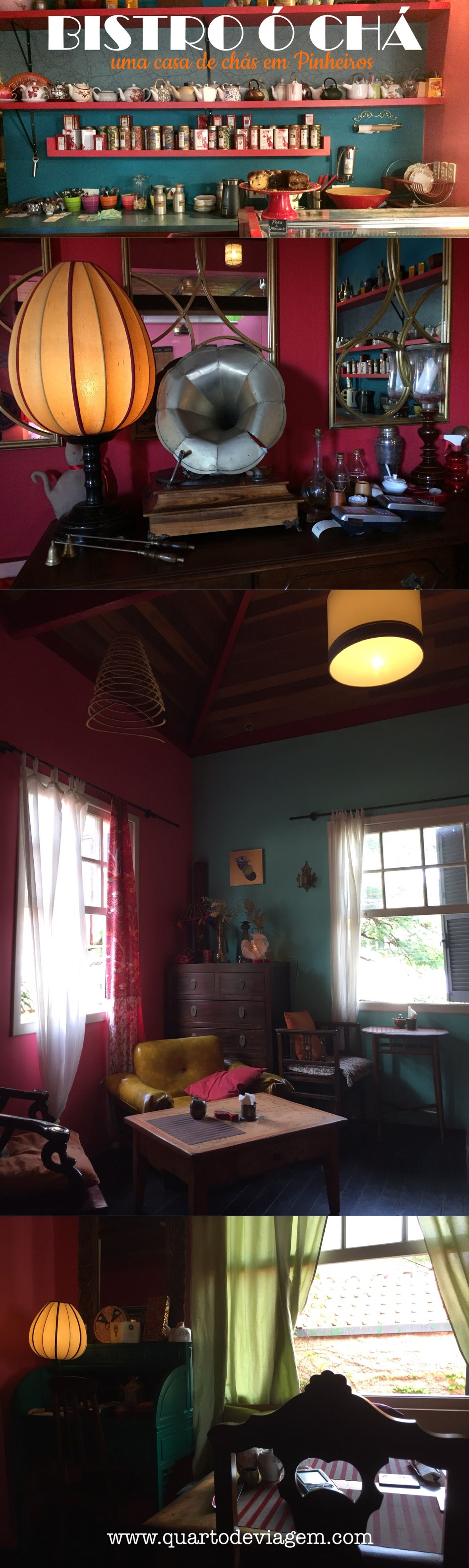Uma casa de chás bem fofa em Pinheiros, Bistrô ó chá!