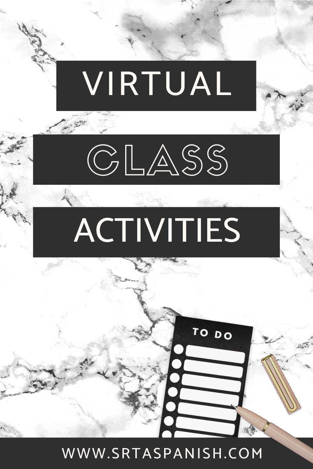 Virtual Class Meeting Games For Language Learners Srta Spanish In 2020 High School Spanish Spanish Lesson Plans Virtual Class