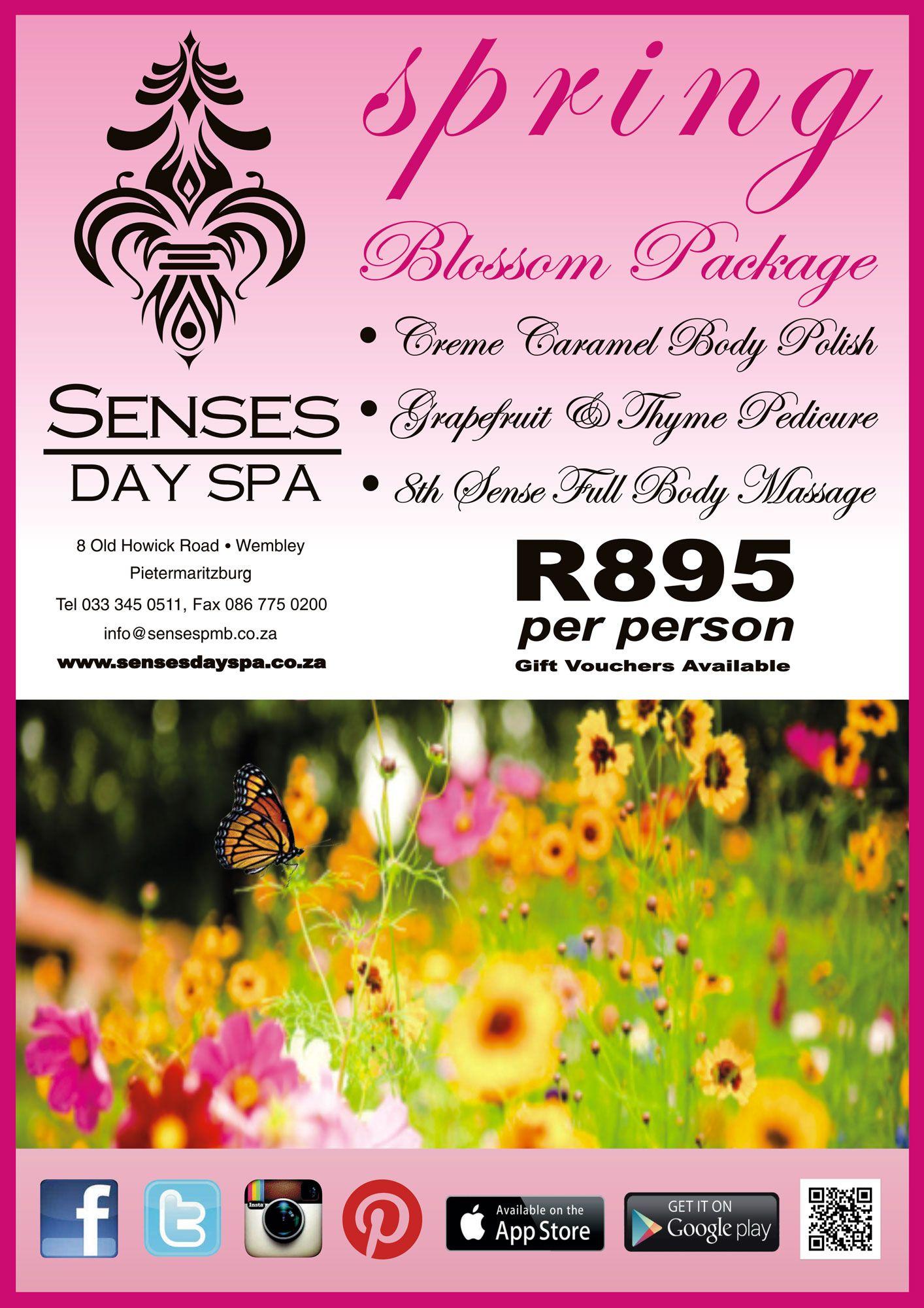 Senses Day Spa In Pietermaritzburg
