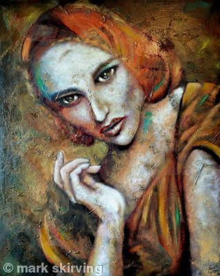 Aphrodite  Oils & acrylic is part of Art, Artist art, Artwork, Artist, Art inspiration, New artists - website of mark skirving, created with artweb com