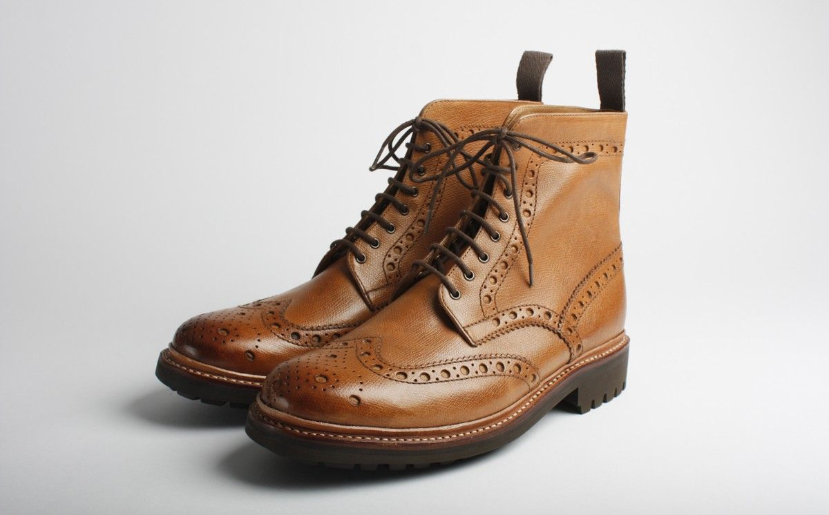 166780847bae7 Grenson s Brogue Boot Fred C
