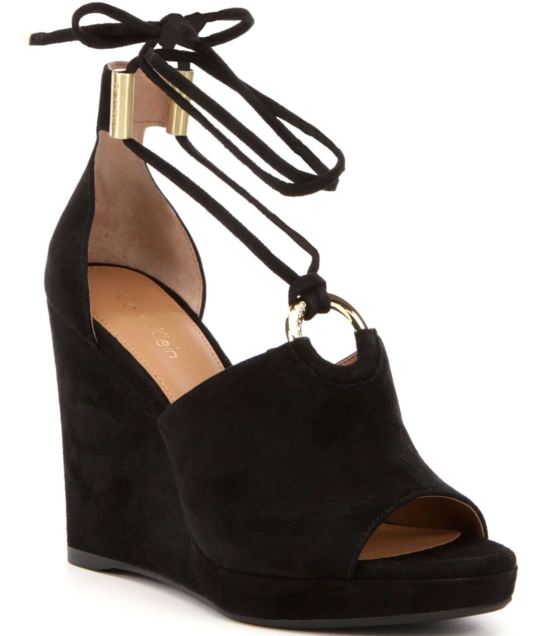 Calvin klein ramona wedge sandals