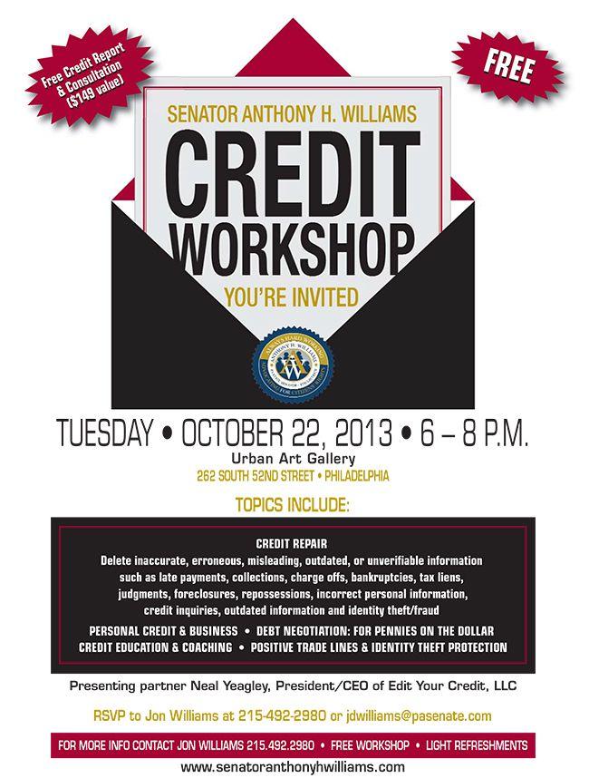 Credit Repair Workshops Flyers Credit Repair Secrets Exposed Here Credit Repair Personal Budget Template Flyer Template