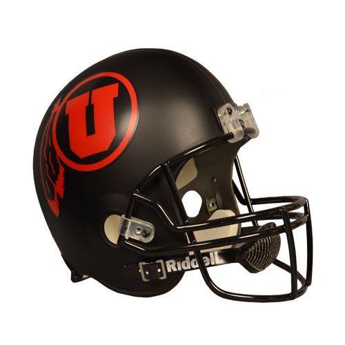 Utah football helmet