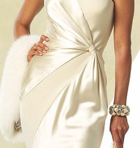 Patron de robe de soiree courte gratuit