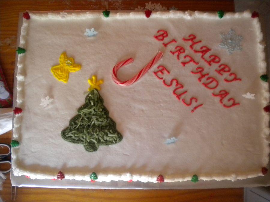 Happy Birthday Jesus Cupcake Ideas Happy Birthday Jesus Cake