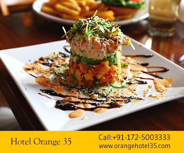 #Dinnerfood #Foodie #Food #Tastyfood #Sector35 #Chandigarh Hotel Orange 35