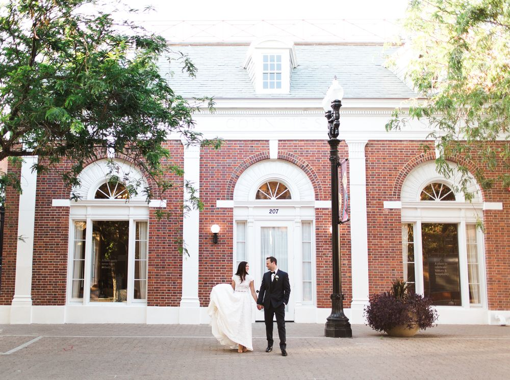 Orange County Wedding Venue The Estate On Second In Santa Ana Bride And Groom Southern French Styled Shoot Lovelyfest Event Design