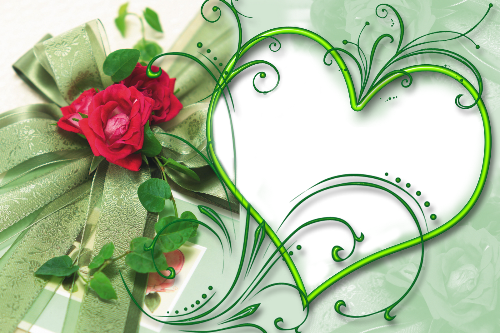 Photoshop Tutorial How to Make Wallpaper I Love You Heart