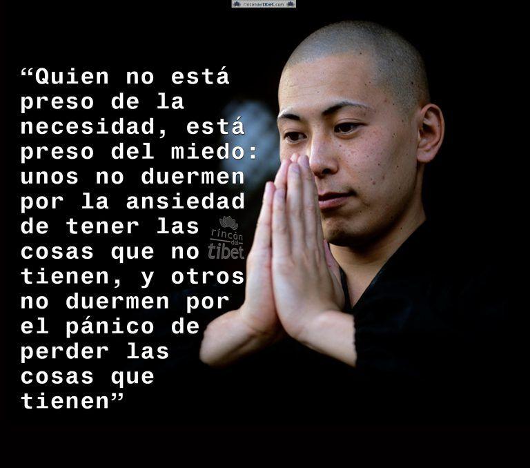 Quien no está preso de la necesidad, está preso …..
