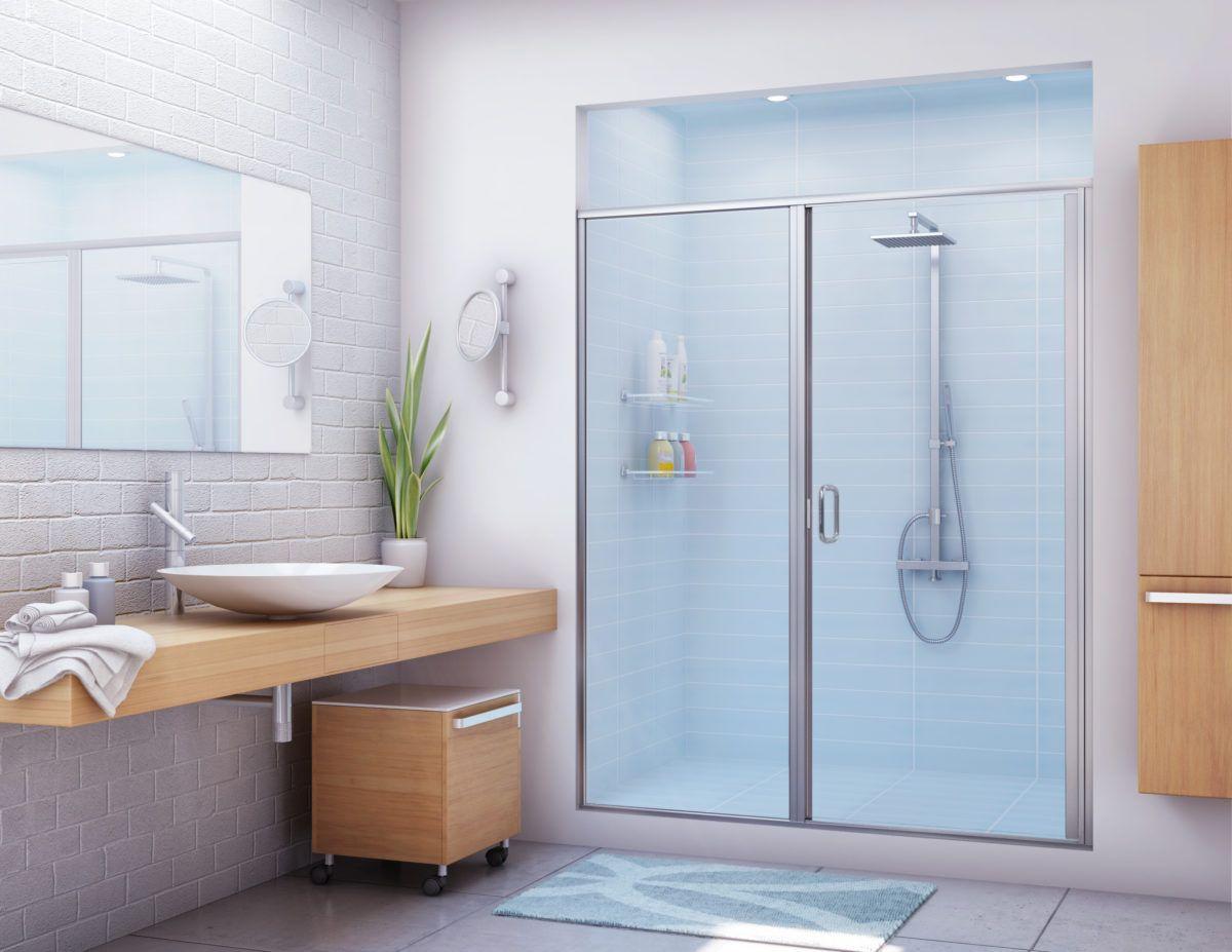 Stikstall Alumax Bath Enclosures Shower Doors Shower Stall Shower Enclosure