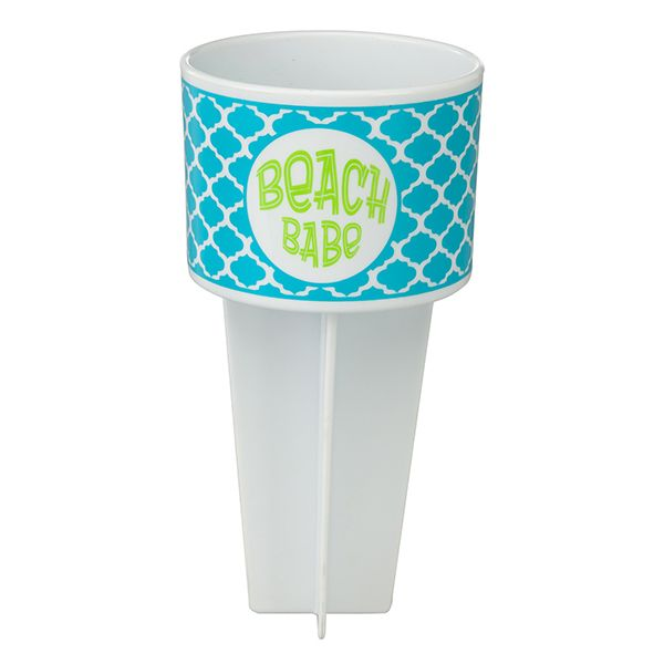 Beach Buddy Cup Holder Beach Babe Beach Babe Cup Holder Insulated Mugs