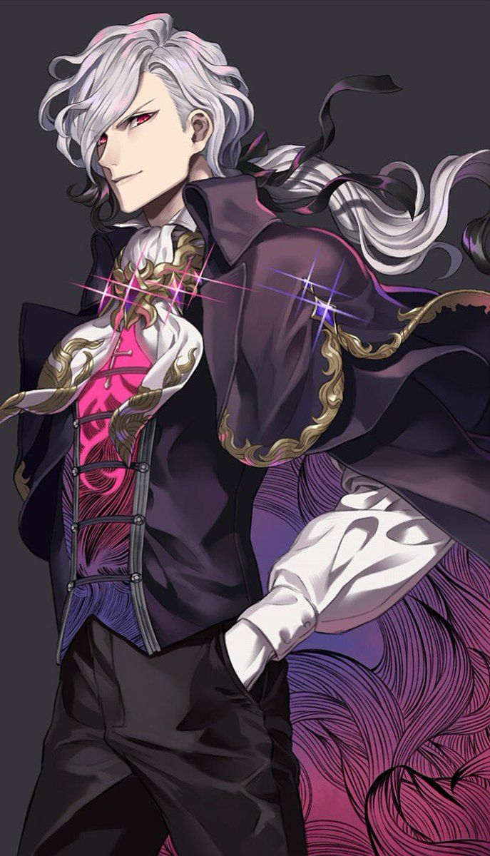 Pin By Ani On F Go Avenger Edmond Dantes Anime