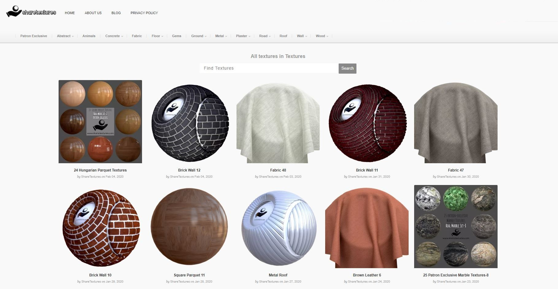 Free PBR Textures ShareTextures in 2020 Free textures