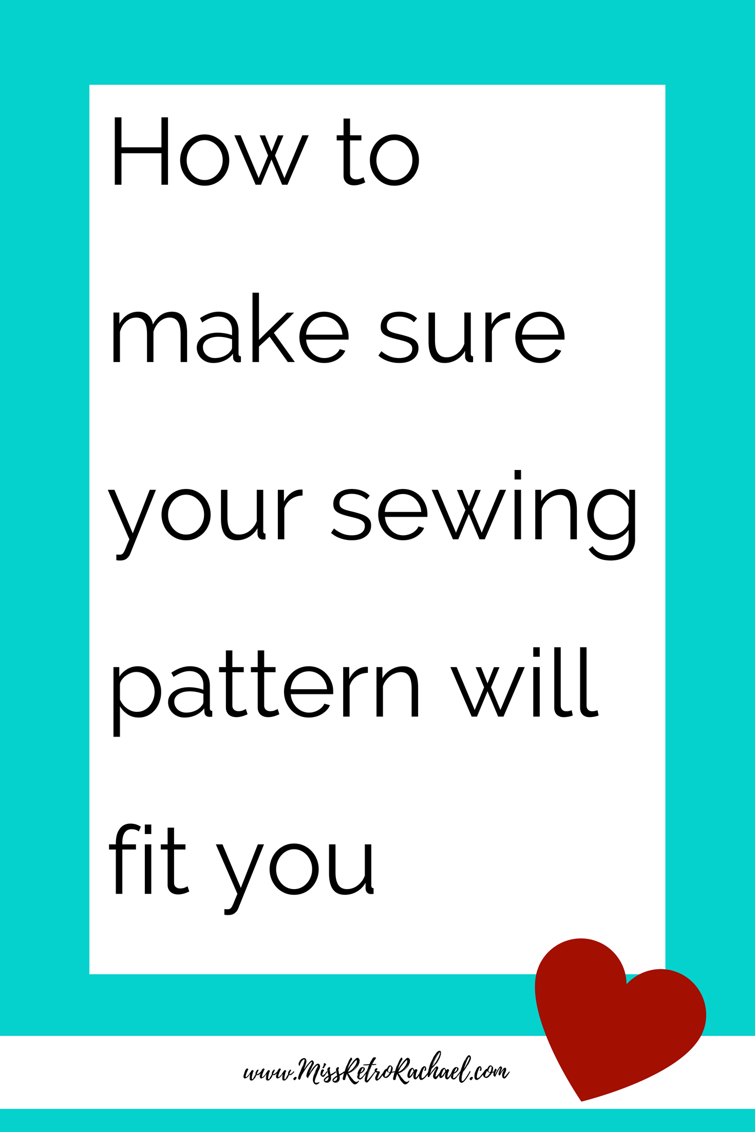 bfbfc4ea52 How to make sure your sewing pattern will fit you every time. Learn about  fitting and why it is so important. #sew #sewing #learntosew #learnto fit # fitting ...