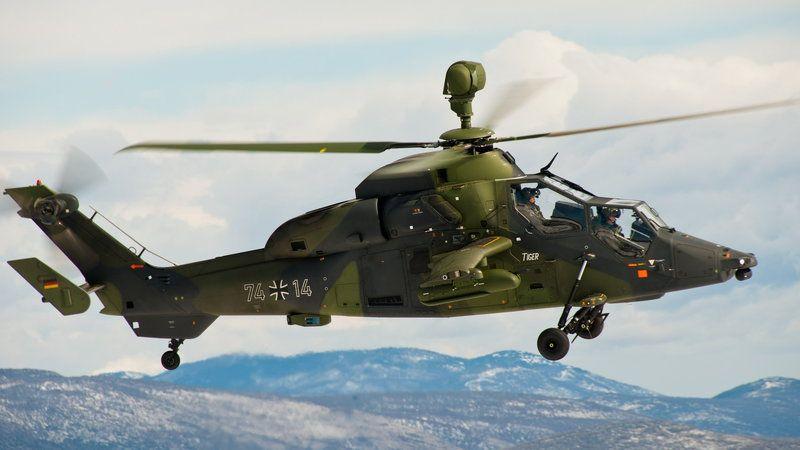Eurocopter Tiger - mocny kandydat na następcę Mi-24