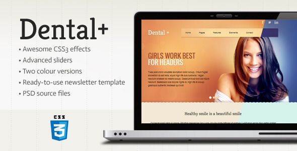 dental clinic website templates - website templates - dentist ...