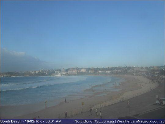 Beach  C B North Bondi Beach Australia Webcam