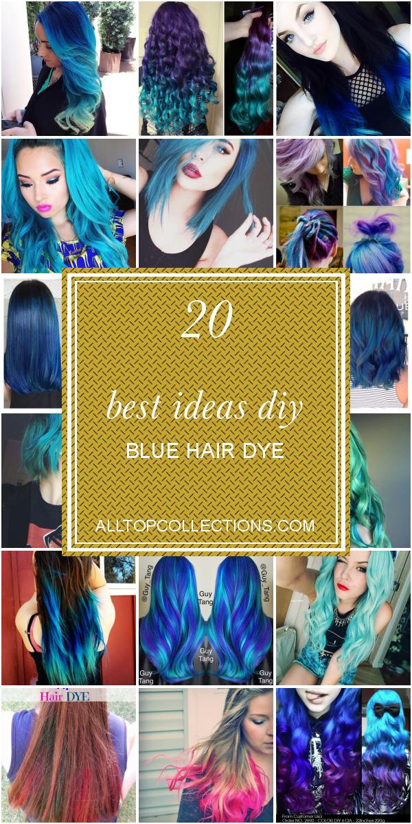 20 Best Ideas Diy Blue Hair Dye Dyed Hair Blue Diy Hair Dye Homemade Hair Dye