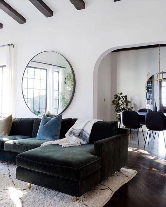 . A beautiful living room via Elle Decor     ELLE DECOR INTERIORS