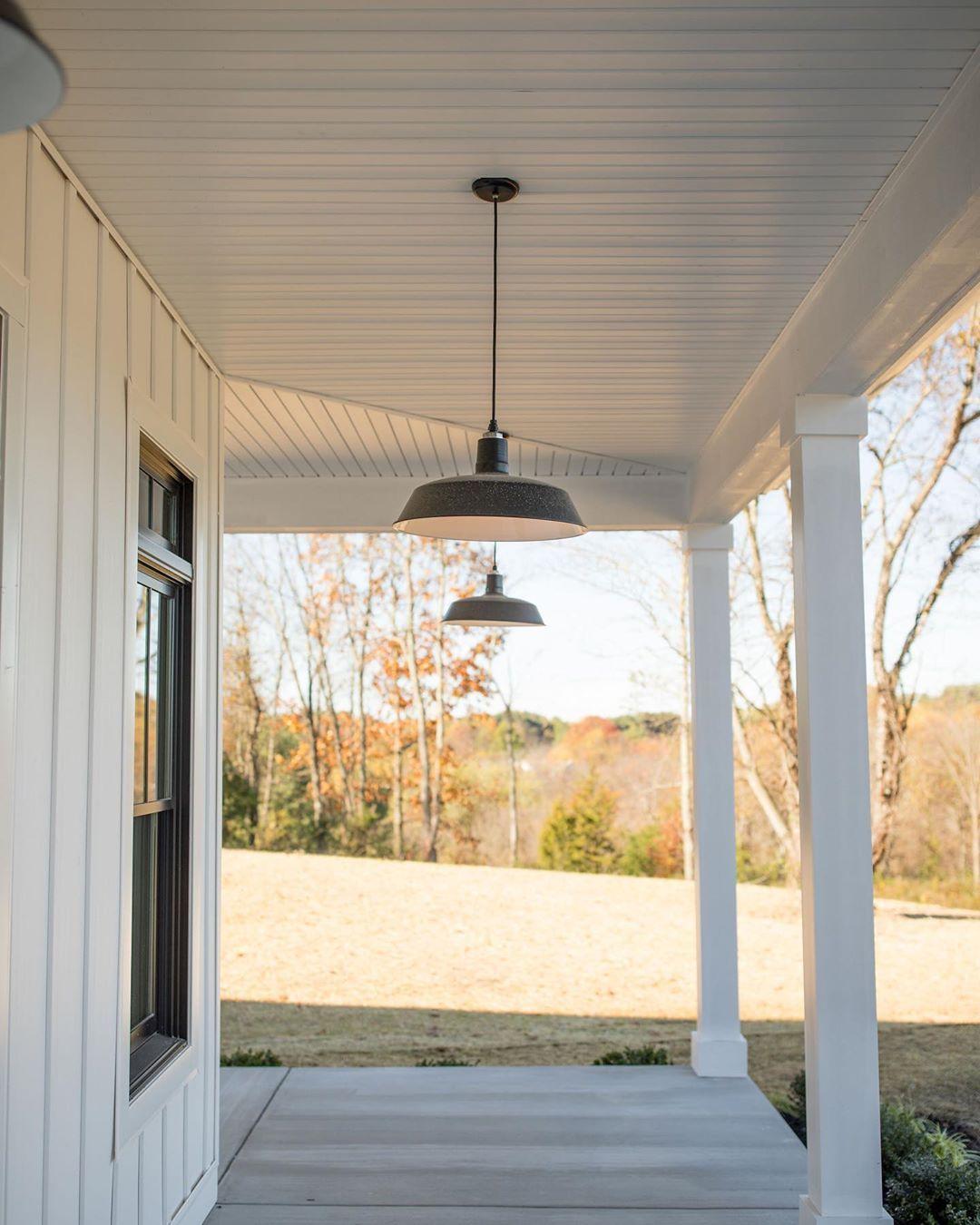 Barn Light Electric On Instagram A Wrap Around Farmhouse Porch
