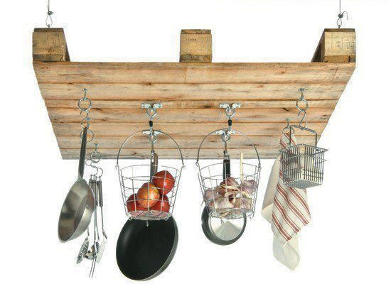 Pot rack - Made by Pallet
