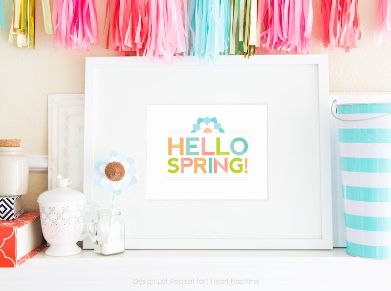 Free Printable Spring Wall Art | Home Decor and Design | Pinterest ...