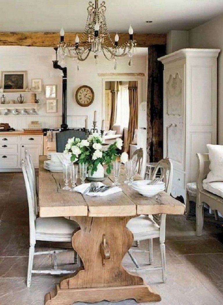 Photo of 47+ Remarkable Fancy French Country Dining Room Design Ideas
