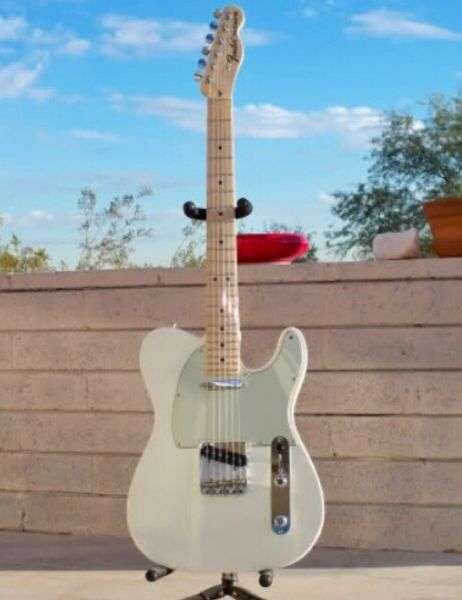 Fender American Special Telecaster With Mint Green
