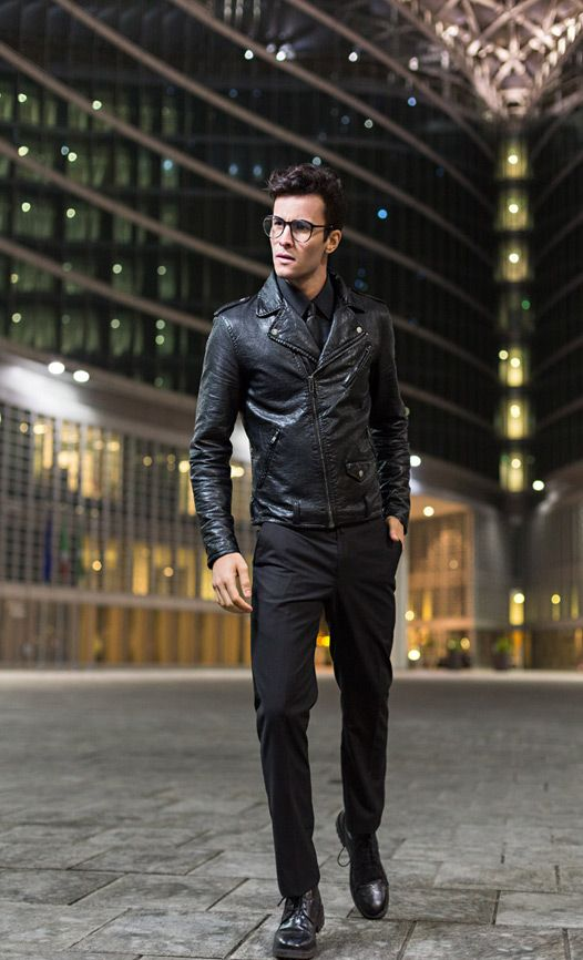 Are mens leather jackets in fashion – Modern fashion jacket photo blog