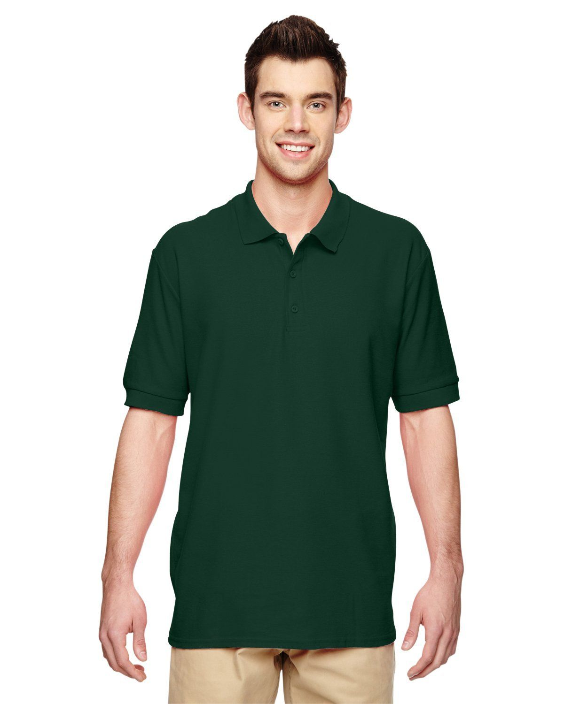 Gildan Premium Cotton Double Pique Polo G828 Forest Green