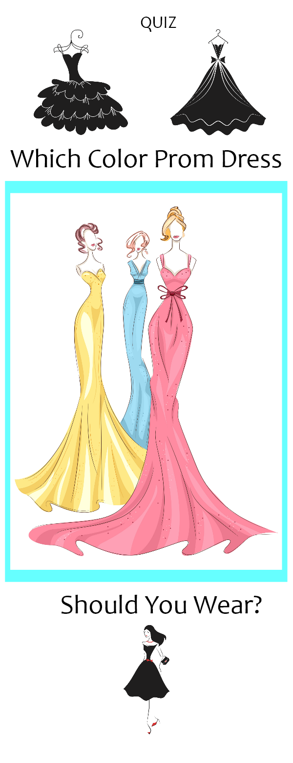 Which color prom dress should you wear fashion and beauty