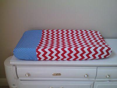 Goat & Lulu: Nursery DIY Week: Tutorial-Changing Pad Cover and Crib Sheet