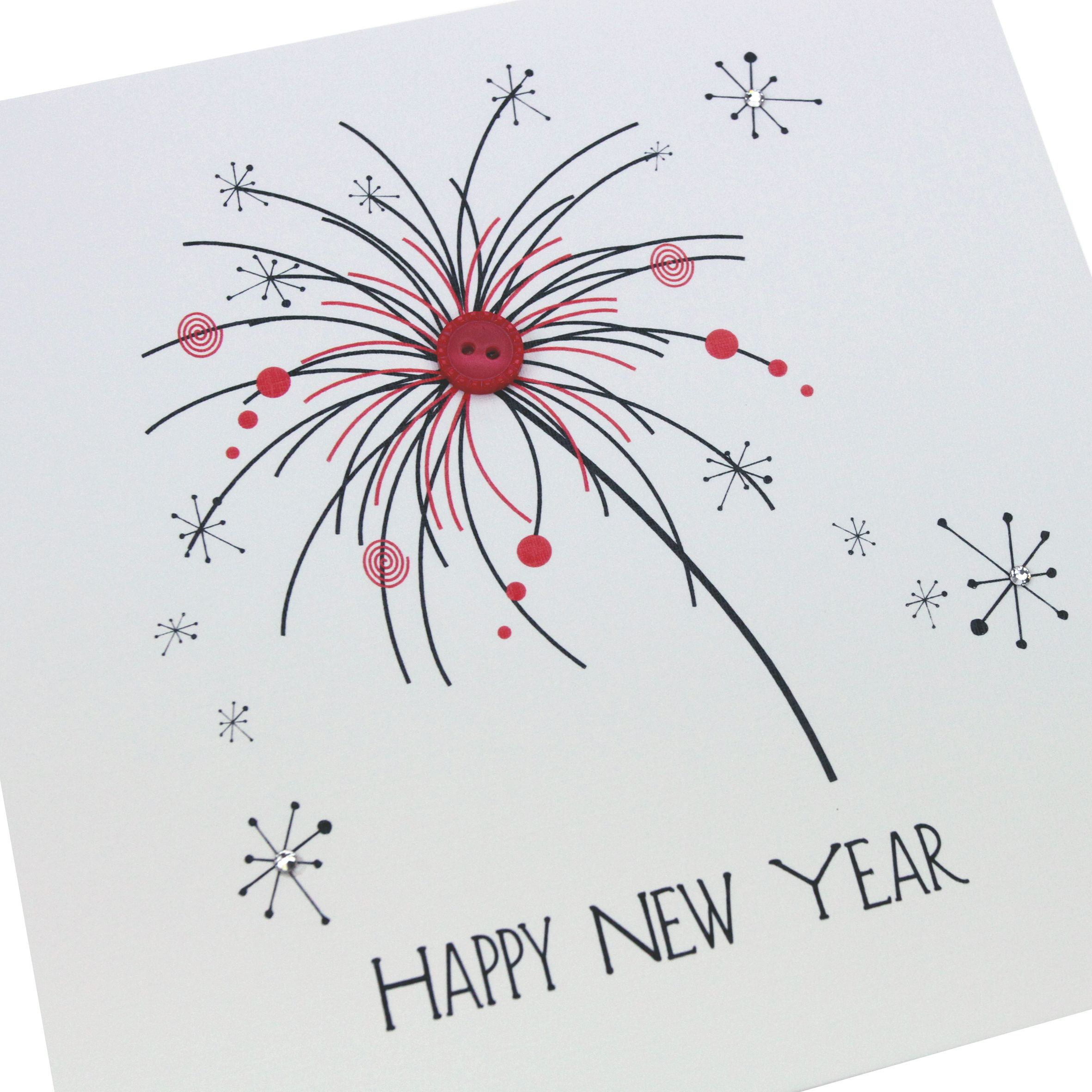New Year Card Handmade Design | Merry Christmas and Happy New Year ...