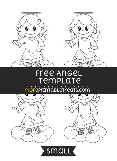 photo about Angel Templates Printable Free identified as No cost Angel Template - Lower Styles and Templates