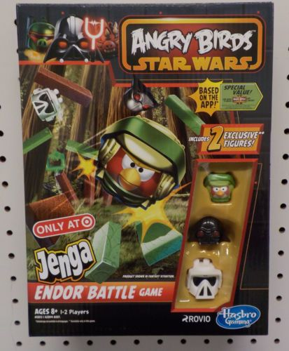 Angry Birds Star Wars Endor Battle Jenga Game Hasbro Target