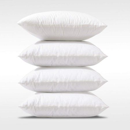 Pack Of 40 Square40 X 40 Inch Form Pillow Inserts Cushion40 X 40 Stunning 18 Inch Pillow Insert