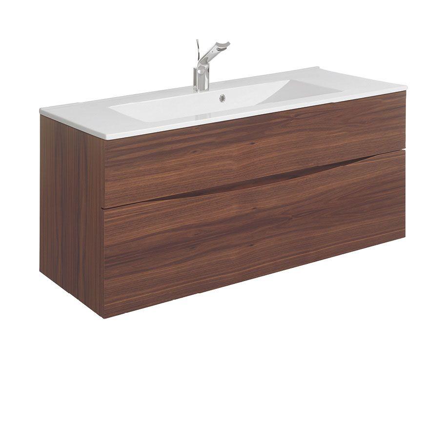 Glide II 100 Unit & Ceramic Basin Basin, Bathroom