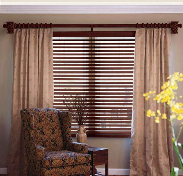 Give Your Home A New Look With Wooden Curtain Rods Wooden