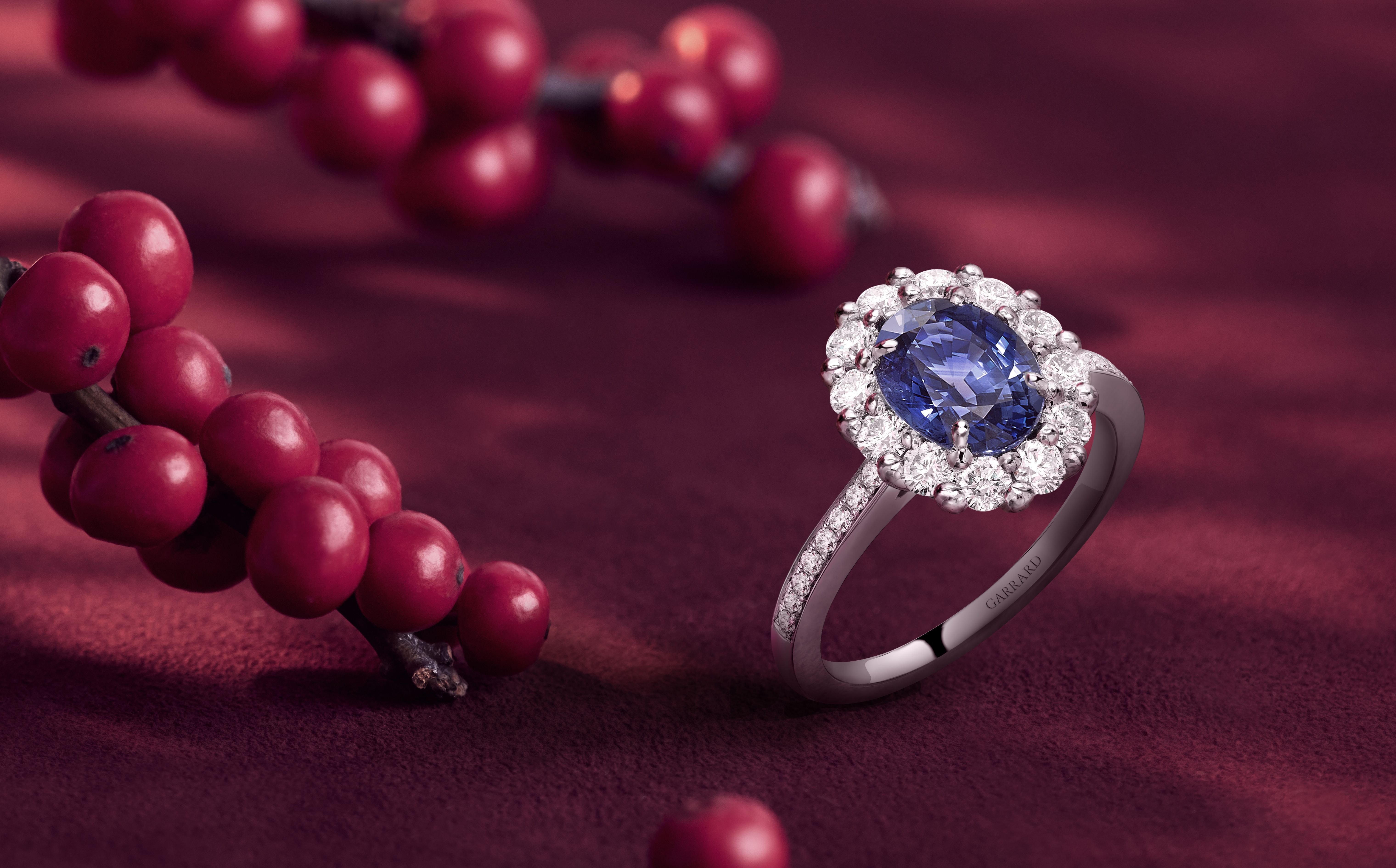 Garrard 1735 Oval Sapphire Ring Exquisite jewelry, Oval