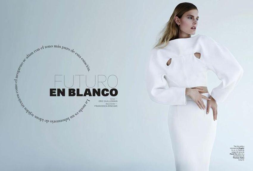 Fashion Editorial | Futuro En Blanco