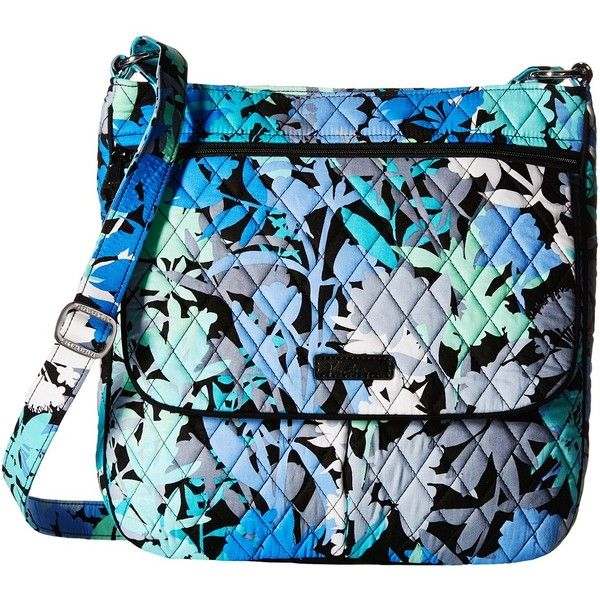 Vera Bradley Double Zip Mailbag (Camofloral) Cross Body Handbags ( 78) ❤  liked on Polyvore featuring bags, handbags, shoulder bags, vera bradley  crossbody, ... 8049de2ae5